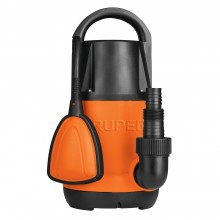 Bomba Eléctrica para Agua Limpia Plástica Sumergible 1 HP