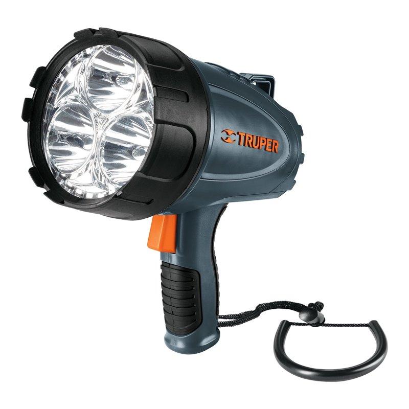 Lámpara recargable de led alta potencia, 1500 lm, 5 W Truper