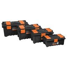 """Caja para Herramienta 14"""" con Compartimentos, Truper"""