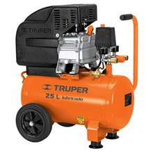 Compresor Lubricado 3 HP 25 Lts Horizontal