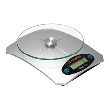 Báscula Digital para Cocina 5 Kg Plato de Vidrio