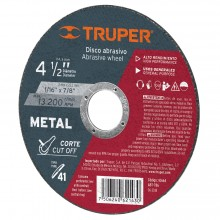 Discos Abrasivos Corte Metal Uso General