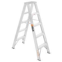Escaleras Dobles Tipo Tijera 100% Aluminio 102 Kg