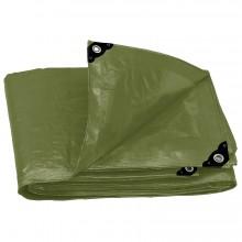 Lonas Uso Rudo Verde Olivo 240 g/m2