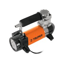 Compresor de Aire 12 V para Auto con Linterna