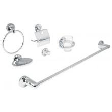 Juego Aqua de 6 accesorios p/baño
