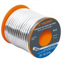 Soldadura Nucleo Res. 95/5 p/Tubo d/Gas