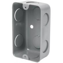 Caja tipo chalupa de acero 2x4', económica
