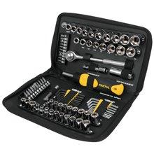 Juego herramientas p/mecánica, 85 pz