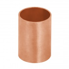 Tubos y conexiones de cobre, Coples, cobre a cobre, sin ranura