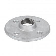 Conexiones de acero galvanizado, Bridas