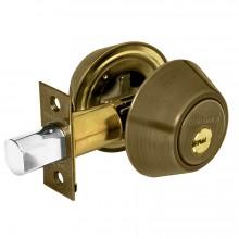 Cerrojos llave-llave, cilindro de láton, llave de puntos