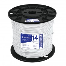 Cables THHW-LS blancos, Carrete 500 m
