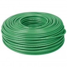 Cables THHW-LS verdes, Rollo 100 m