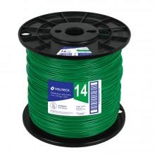 Cables THHW-LS verdes, Carrete 500 m