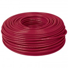 Cables THHW-LS rojos, Rollo 100 m