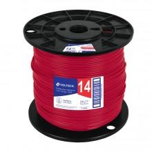 Cables THHW-LS rojos, Carrete 500 m