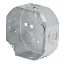 Caja 4 X 4 Octagonal Reforzada Volteck