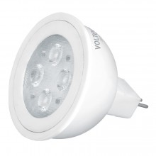 Lámparas de LED tipo MR 16, base GU5.3, Luz cálida