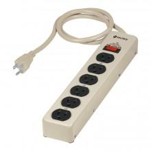 Multicontacto 6 Ent. Supresor 600 J