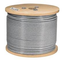 Cable de acero recubierto de PVC 7x7 hilos