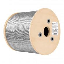 Cables de acero, 7x7 hilos, 300 m