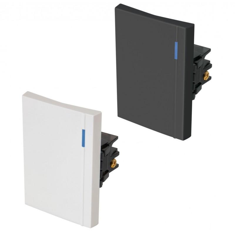 Interruptores 3 Vías, 3 módulos, línea Española