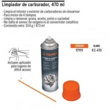Limpiador de carburador 470 ml