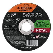 """Disco para Corte de Metal 4-1/2"""" Tipo 41 Truper Expert"""