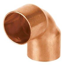 Codos 90º cobre a cobre Copperflow Basic
