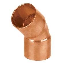 Codos 45º cobre a cobre Copperflow Basic