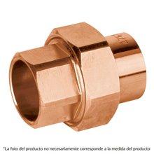 Tee Sencilla cobre a cobre a cobre Copperflow Basic