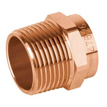Conectores Cobre a Rosca Hembra Copperflow Basic